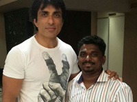 Sonu Sood in Cambridge institute at Mumbai